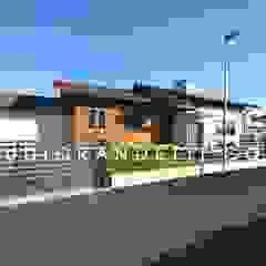 Villa Moderna e di Design by Studio Randetti di STUDIO RANDETTI - PROGETTAZIONE E DESIGN Moderno Legno Effetto legno