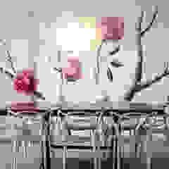 Apartamento Aristizabal - Alviar / Parte 1 Comedores de estilo ecléctico de Tejero & Ángel Diseño de Interiores Ecléctico