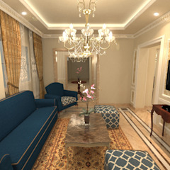 Salas de estar clássicas por Quattro designs Clássico