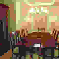 Salas de jantar clássicas por Quattro designs Clássico