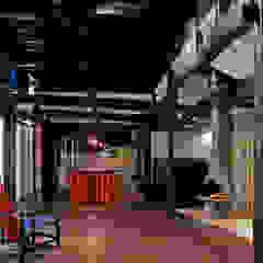 榛原の家 和風デザインの リビング の 古民家再生ネットワーク 和風