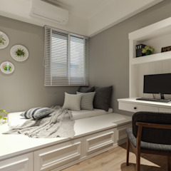 Country style bedroom by 存果空間設計有限公司 Country