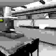 Ampliação de cozinha - Estilo moderno com toques de rusticidade por Studio² Moderno