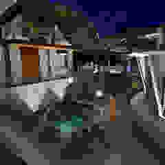 SPA HOTEL IBIZA Spa de estilo rústico de EDUARDO NOVOA ARQUITECTO INDEPENDIENTE Rústico Piedra