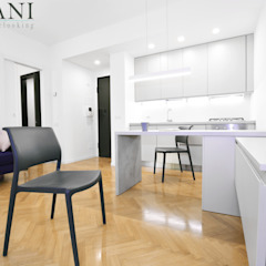 Cozinhas modernas por A4MANI - Interior & Architecture Moderno Derivados de madeira Transparente