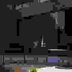 V Arquitectura Modern Terrace Concrete Grey