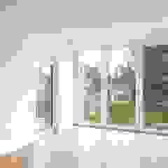 Salon moderne par ZHAC / Zweering Helmus Architektur+Consulting Moderne Bois Effet bois