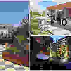 press profile homify Balcon, Veranda & Terrasse modernes