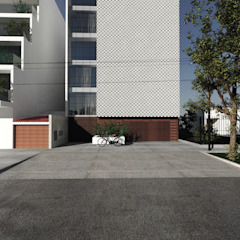 CN y Arquitectos Multi-Family house Reinforced concrete White