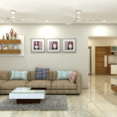 Asian style living room by shree lalitha consultants Asian Plywood
