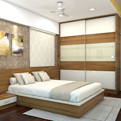 Asian style bedroom by shree lalitha consultants Asian Plywood