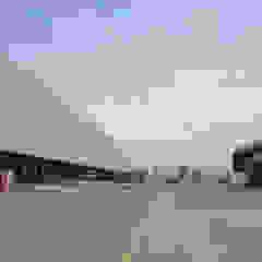 Centro logístico Kaufmann Altos de Lampa de Bschneider Arquitectos e Ingenieros Industrial