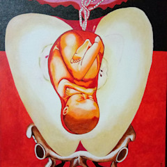 Germination: asian  by Indian Art Ideas,Asian