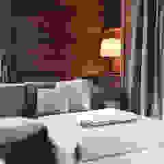 Salas de estilo escandinavo de Andrea Rossini Architetto Escandinavo