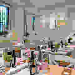 Biancolatte -Cucina, Caffè, Gelato, Pasticceria, Shop, Fiori, lifestyle - Milano Gastronomia in stile scandinavo di Andrea Rossini Architetto Scandinavo