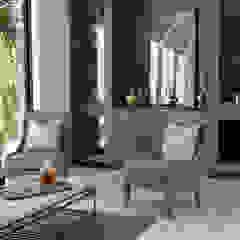 The Modern Barn Living Room Plum Builders Modern Living Room Wood Grey