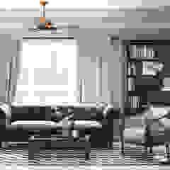 Livings de estilo colonial de V Design Studio Colonial