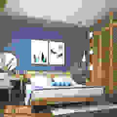 """SEASON AVENUE, ĐẠI LỘ 4 MÙA - """"MÙA HẠ MIỀN NHIỆT ĐỚI"""" od Green Interior Egzotyczny Wzmocniony beton"""