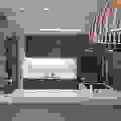 Casa de Praia Modern Kitchen by brunadiogenes.liviafeitosa Modern