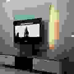 Project Moderne Wohnzimmer von BLUCAP LLP Modern