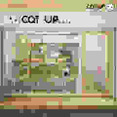 Cat Up Cafe' @ Silom โดย Abilmente Co.,Ltd มินิมัล กระจกและแก้ว