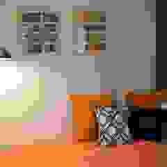 Departamento en Barrio Chateau Dormitorios eclécticos de Da! Diseño de Interiores Ecléctico