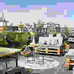 Mediterranean style balcony, porch & terrace by Egue y Seta Mediterranean