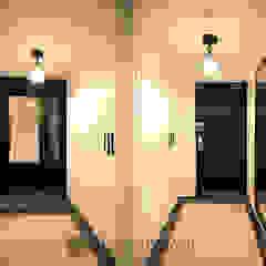 수유 두산위브 아파트 34py 클래식스타일 복도, 현관 & 계단 by Design Daroom 디자인다룸 클래식