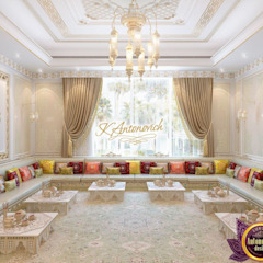 ​Interior design company in Dubai Luxury Antonovich Design Asian style dining room by Luxury Antonovich Design Asian