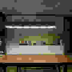 台中-精銳 根據 禾廊室內設計 熱帶風 塑木複合材料