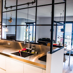 Industrial Chic Cucina in stile industriale di Studio ARCH+D Industrial
