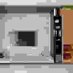 Paredes y pisos minimalistas de 禾廊室內設計 Minimalista