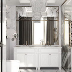 Eclectic style bathroom by U-Style design studio Eclectic
