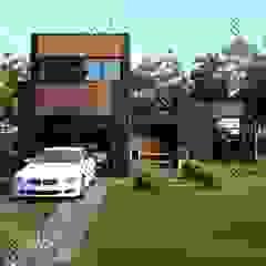WoodLine Modern houses by Design Studio AiD Modern