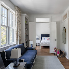 Glebe Avenue Residence Classic style bedroom by Flynn Architect Classic
