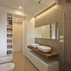 Phòng tắm phong cách Bắc Âu bởi JFD - Juri Favilli Design Bắc Âu Gạch ốp lát