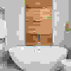 Highgate Home Refurbishment Baños de estilo moderno de Patience Designs Moderno