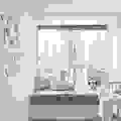 Cherry Crest Scandinavian style nursery/kids room by Clifton Leung Design Workshop Scandinavian