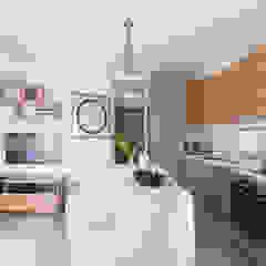 Cherry Crest Scandinavian style kitchen by Clifton Leung Design Workshop Scandinavian