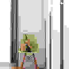Eightytwo Scandinavian style bedroom Wood White