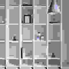 Eightytwo Living roomShelves Wood White