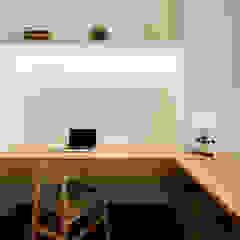 SKY HABITAT Scandinavian style study/office by Eightytwo Pte Ltd Scandinavian Wood Wood effect