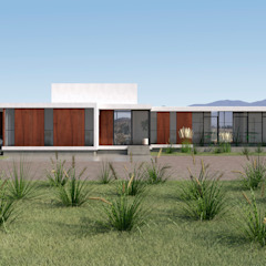 by Uno Arquitectura Country لکڑی پلاسٹک جامع