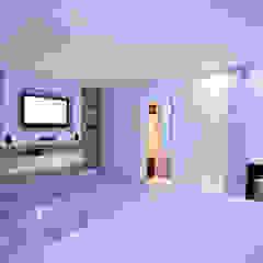 MOTEL CELEBRITY Hotéis clássicos por FERNANDA JUNG ARQUITETURA Clássico Mármore