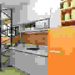 Apartamento Studio 35m² por Juliana Azanha | Arquitetura e Interiores Industrial