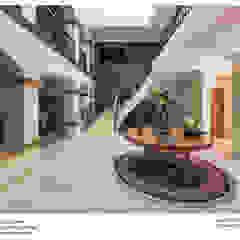 Corredores, halls e escadas coloniais por Excelencia en Diseño Colonial Mármore