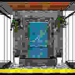 Muro LLoron - Ilo, Peru, contactos al 925389750 de F9.studio Arquitectos Moderno Pizarra
