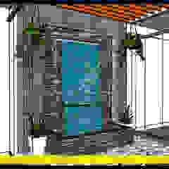 Muro LLoron - Ilo, Peru, contactos al 925389750 de F9.studio Arquitectos Moderno Piedra