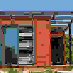 by Discovercasa | Casas de Madeira & Modulares Modern Solid Wood Multicolored
