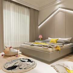 J House, Modern Style. Pematangsiantar City Kamar Bayi/Anak Modern Oleh Lighthouse Architect Indonesia Modern